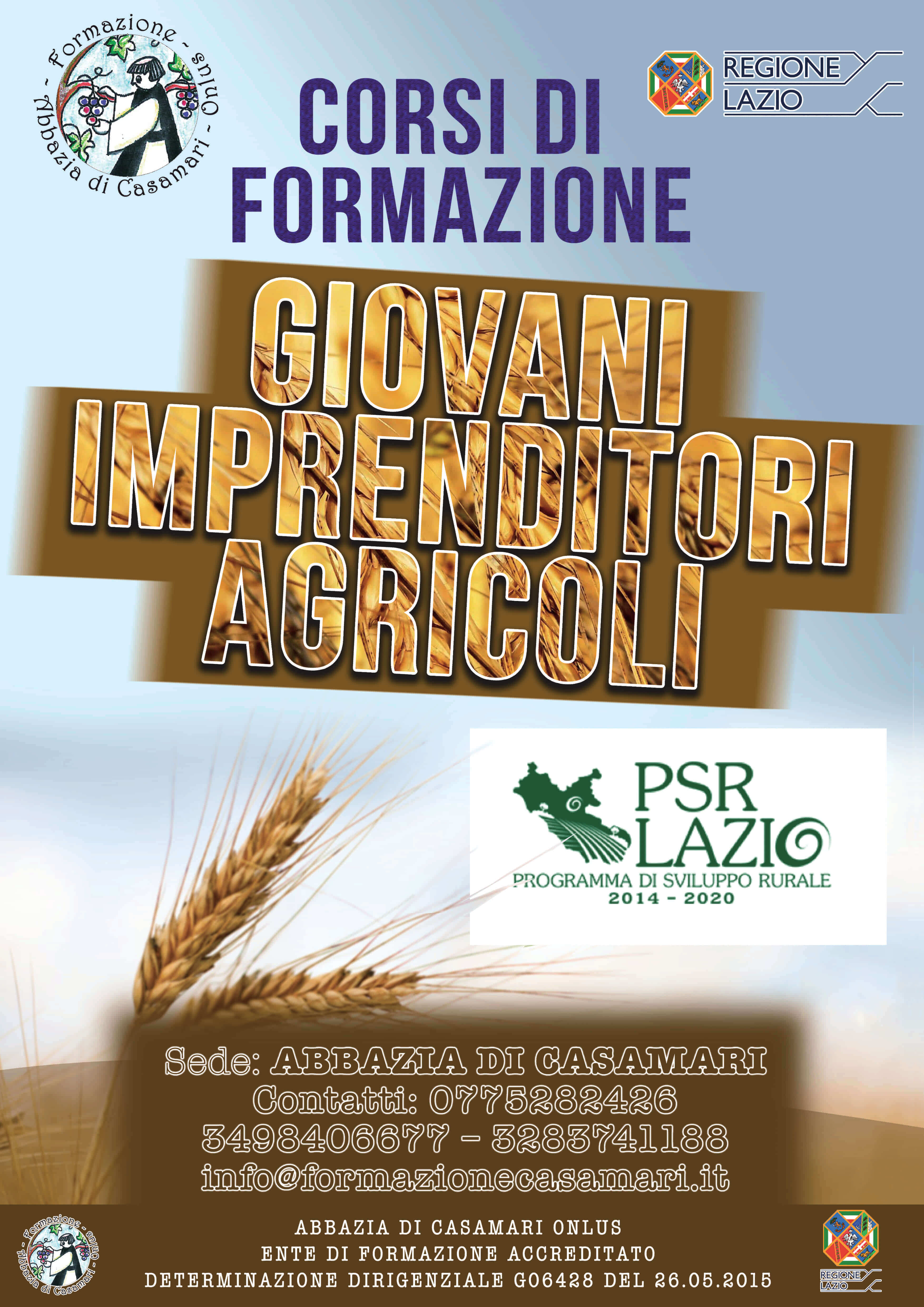 Corso per Giovani Imprenditori Agricoli